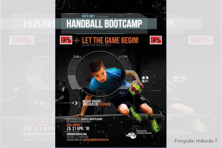 Hollandia T organiseert handbal Bootcamp
