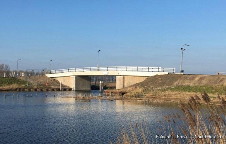 Leierbrug in Gemeente Hollands Kroon gereed op 20 maart