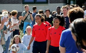 Franca Overtoom debuteert in Jupiler League