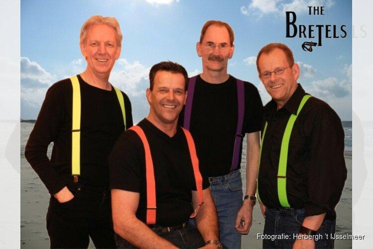 Koningsdag in Oosterleek met muziek van sixtiesband THE BRETELS
