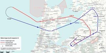 Belevingsvlucht geeft inwoners indruk van vliegverkeer Lelystad Airport