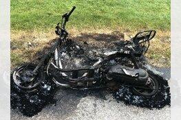 Afgebrande scooter gevonden in Abbekerk