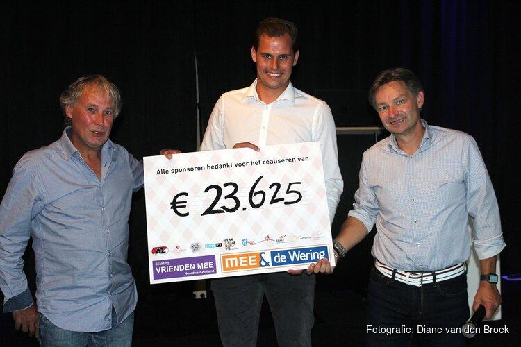 Benefietavond Vrienden MEE Sportfonds levert €23.625,- op