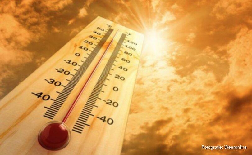 Het weer de aankomende week... zomerse warmte houd aan!