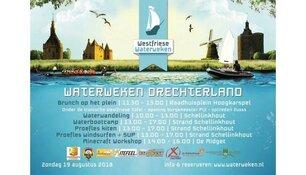 De Waterweken in Drechterland komen er weer aan