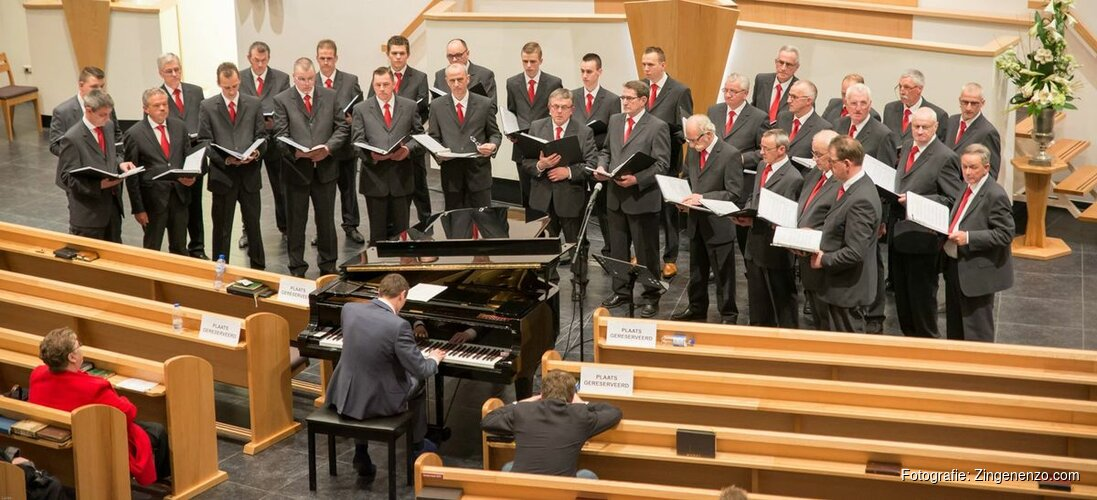 Mannenkorenconcert op 15 september a.s. in Andijk