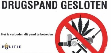 Burgemeester sluit drugswoning in Blokker