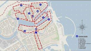 Locaties ondergrondse containers vastgesteld door CAW