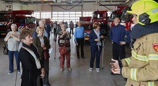 Brandweer nodigt 65-plussers uit voor lunch in de kazerne