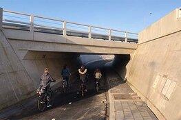 Fietstunneltocht Koggenland door nieuwe fietstunnels N194