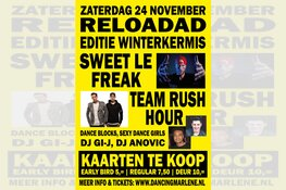 Reloadad Winterkermis in Marlène met o.a. Sweet Le Freak en Rush Hour