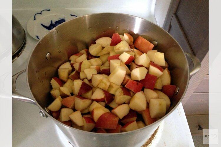 Smullen van ouderwetse appelflap anders