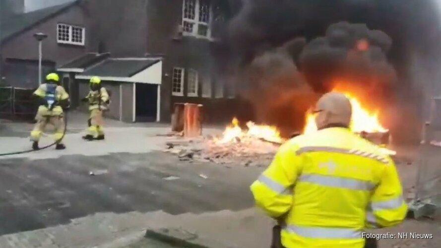 """Burgemeester Medemblik: """"Hulpverleners met vuurwerk bekogelen absoluut onacceptabel"""""""