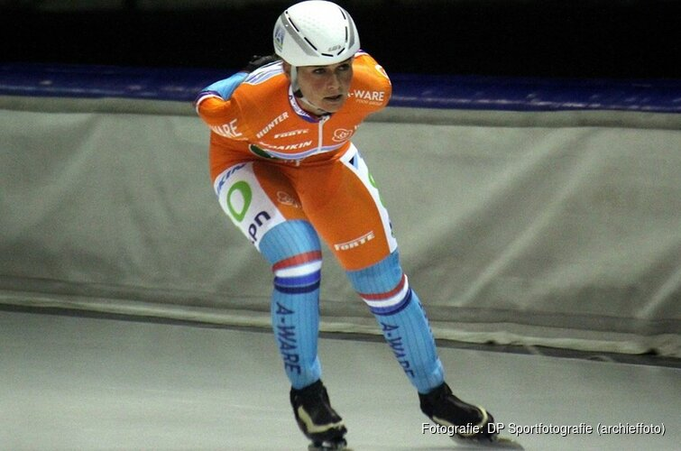 Irene Schouten wint goud op massastart WK Afstanden