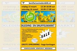 Aankomend weekend lentemarkt bij Stichting Bonifaciuskerk Medemblik