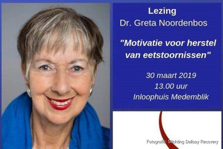 Lezing dr. Greta Noordenbos in Inloophuis Medemblik