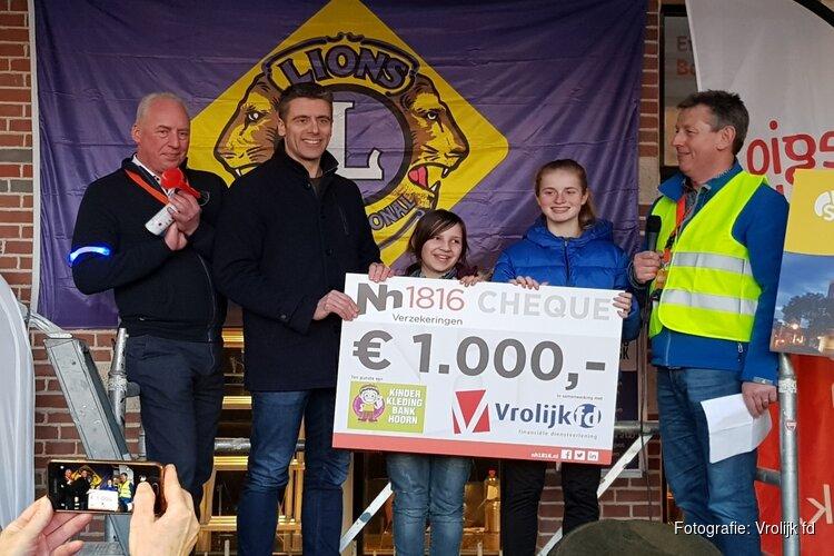 Vrolijk fd en Nh1816 sponsoren Struuntocht