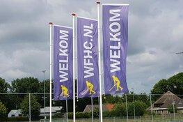 WFHC Hoorn met opgeheven hoofd uit het bekertoernooi
