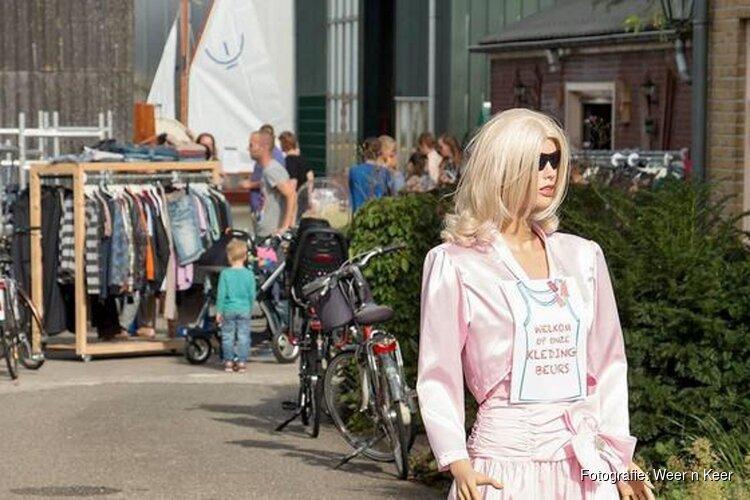 Tweede Kans markt op Moederdag in Zwaag