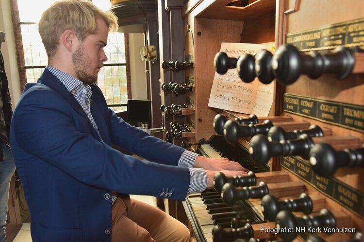 Orgelconcert 4 juli a.s. met Mark Brandwijk in NH Kerk Venhuizen