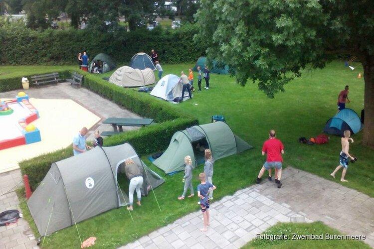 Kindercamping bij Zwembad Buitenmeere
