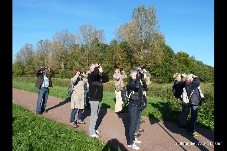Op natuurcursus bij IVN West-Friesland