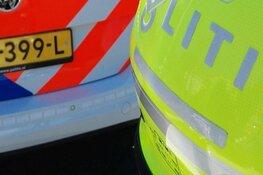 Aanhanger met BMW slaat over de kop bij ongeluk op A7