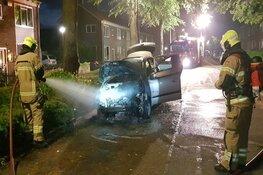 Auto in brand in Hoorn, onderzoek volgt