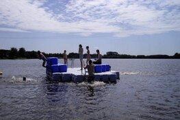 Verkoeling in het Hoornse water