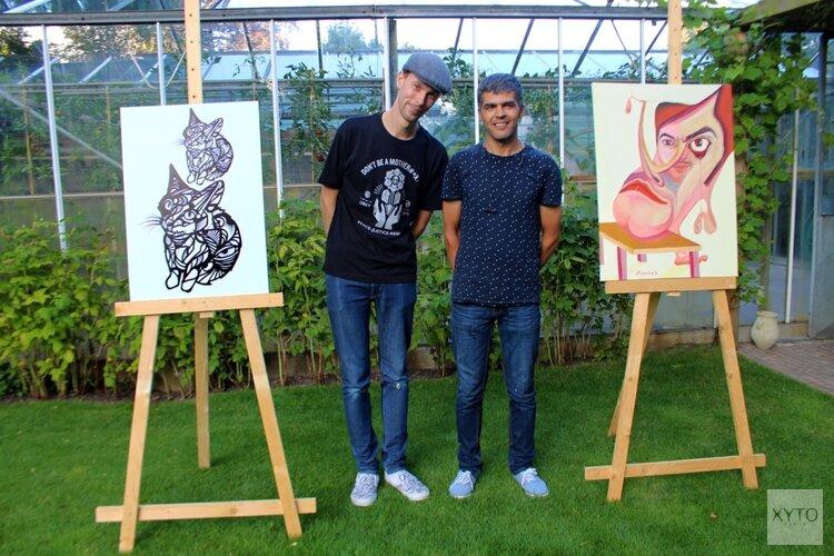 Zomerexpositie Mandak Azizi en Milan Nowak