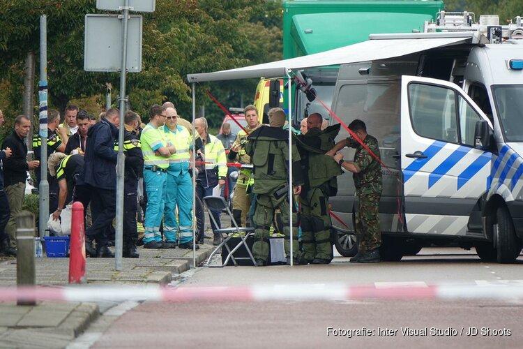 EOD in actie bij vondst scooter met explosief in Hoogkarspel