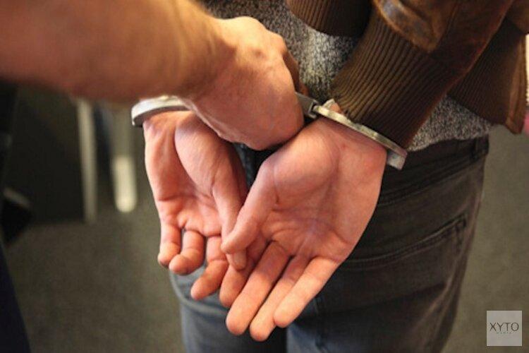 Zesendertige jarige man aangehouden