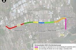 Provincie Noord-Holland start maandag met werkzaamheden aan N505 tussen Enkhuizen en Hoogkarspel