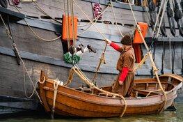 Halve Maen spil in historisch spektakel rond Slag op  Zuiderzee