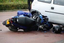 Scooterrijder gewond in Grootebroek