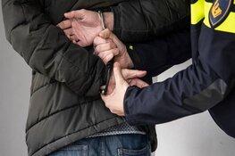 Politieman raakt gewond aan knie bij aanhouding