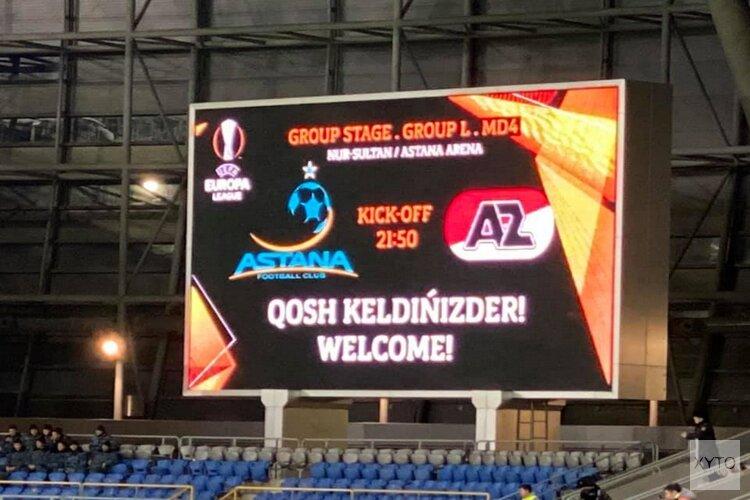 AZ veegt Astana wederom van de mat