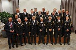 Koninklijke onderscheiding voor 21 brandweervrijwilligers