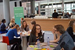 Aftrap bijeenkomst samenwerking gemeente Hoorn en DeBroekriem