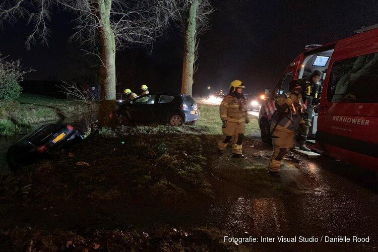 Ongeval met twee auto's bij Hem