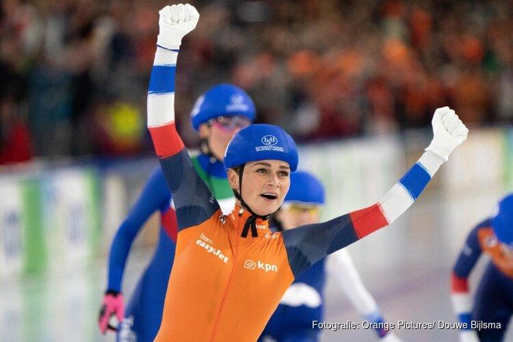 Nu ook EK-goud voor Irene Schouten