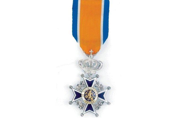Koninklijke onderscheiding voor brandweervrijwilliger