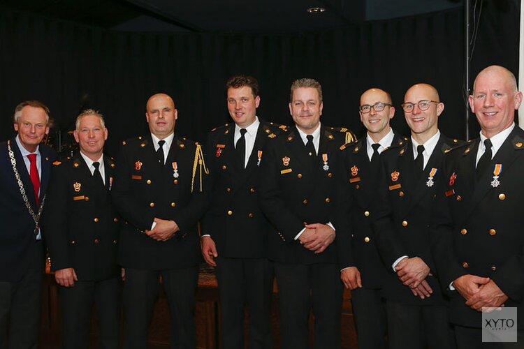 Lintje voor 7 brandweervrijwilligers