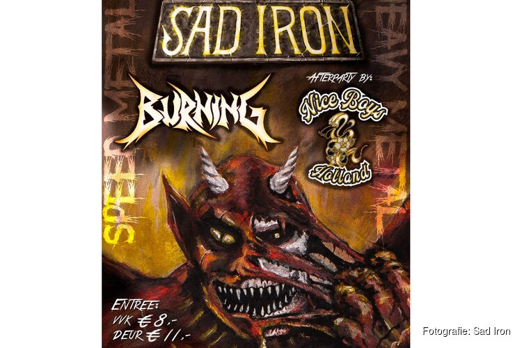 Sad Iron presenteert nieuw album