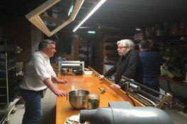 Maarten van Rossem, Robèrt van Beckhoven en Janny van der Heijden voor Doorbakken in het Bakkerijmuseum