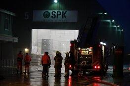 Brandje bij recyclingbedrijf in Wognum