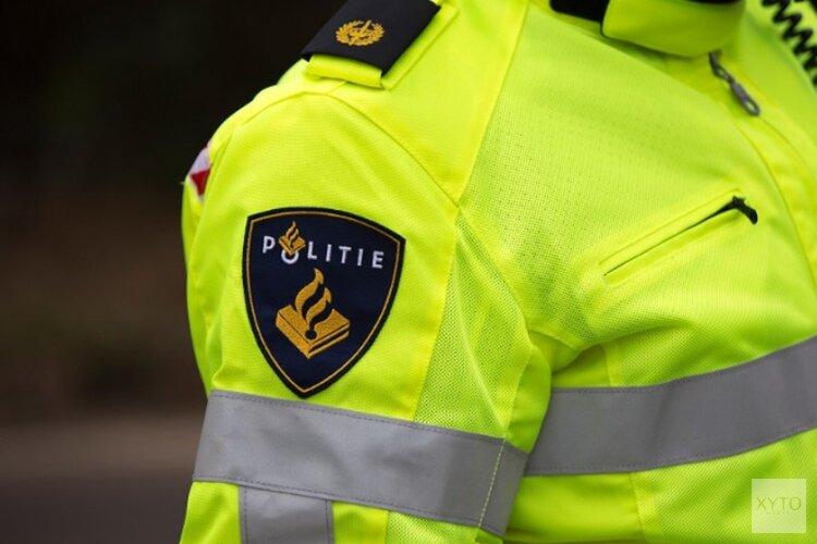 Inbreker stapt in de armen van de politie
