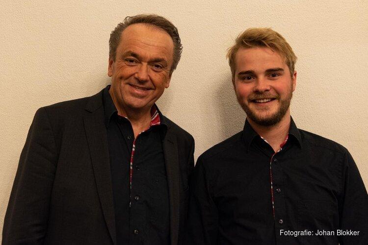 Martin Mans en Mark Brandwijk in Geref. Kerk Andijk