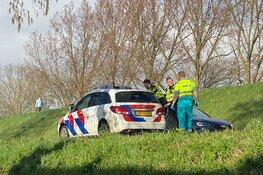 Ongeval Enkhuizen, persoon in de boeien geslagen