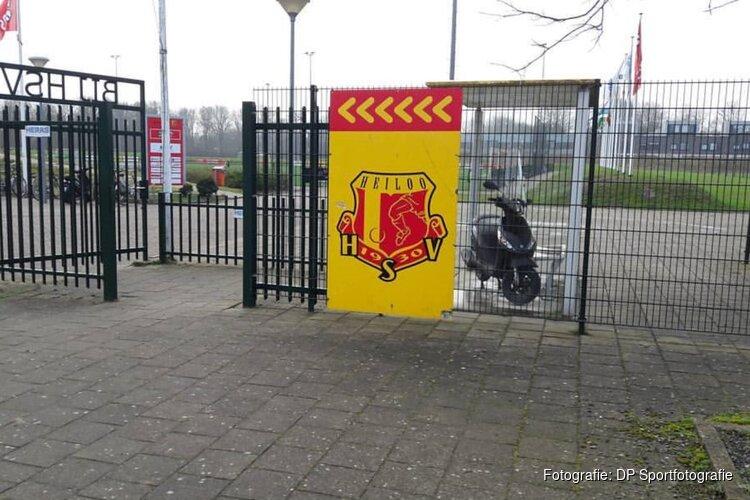 HSV klopt Spartanen ruim na rode kaart en strafschop